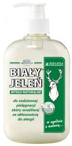 BIAŁY JELEŃ, Mydło naturalne w płynie, 500 ml
