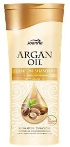 JOANNA Argan Oil, Szampon do włosów z olejem arganowym, włosy suche i zniszczone, 200 ml