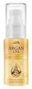 JOANNA Argan Oil, Jedwabisty eliksir z olejem arganowym, włosy suche i zniszczone, 30 ml