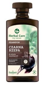 FARMONA Herbal Care, Wzmacniający szampon Czarna Rzepa, włosy słabe, łamliwe, cienkie, 330 ml