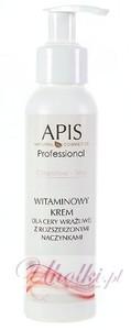 APIS Couperose Stop, Krem witaminowy wzmacniający, cera naczynkowa, z rumieniem, podrażniona, 100 ml