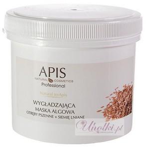 APIS Natural TerApis, Maska algowa wygładzająca otręby pszenne i siemię lniane, każda cera, 250g/650 ml