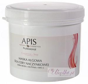 APIS Couperose Stop, Maska algowa dla cery naczynkowej, z rumieniem, 250g/650 ml