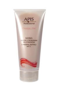 APIS Couperose Stop, Kremowa maska z jarzębiną, rutyną i witaminą C, cera naczynkowa, 200 ml