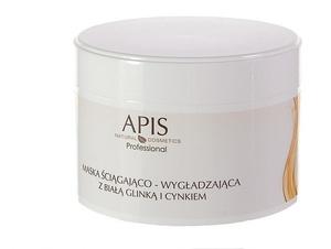 APIS, Maska ściągająco - wygładzająca z białą glinką i cynkiem, cera tłusta i mieszana, 200 ml