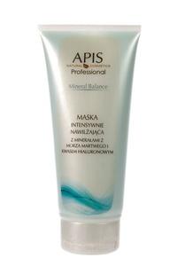 APIS Mineral Balance, Maska intensywnie nawilżająca z minerałami z Morza Martwego, cera sucha i odwodniona, 200 ml