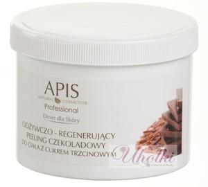 APIS Deser dla Skóry, Odżywczo - regenerujący peeling czekoladowy z cukrem trzcinowym do ciała, 700g