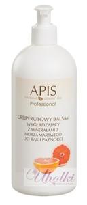 APIS Grejpfrutowy balsam wygładzający z minerałami z Morza Martwego do rąk, każda skóra, 500 ml