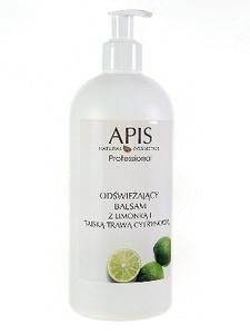 APIS Limonkowa Świeżość, Odświeżający balsam do stóp z limonka i tajską trawą cytrynową, 500 ml
