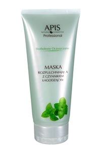 APIS Maska kremowa rozpulchniająca z czynnikiem łagodzącym, każda cera, 200 ml