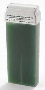 XANITALIA, Azulenowy wosk do depilacji twarzy i ciała w rolce, 100 ml