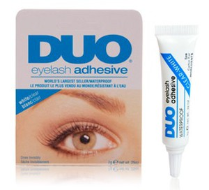 [W] ARDELL Duo Eyelash Adhesive Clear, Przezroczysty klej do sztucznych rzęs i kępek, 7g