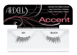 ARDELL Fashion Lash Accent #301, Profesjonalne, naturalne rzęsy - połówki, 1 op.