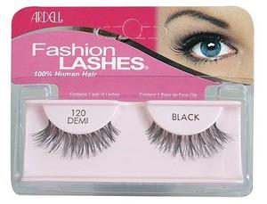 ARDELL Fashion Lashes #120 Demi Black, Profesjonalne, naturalne gęste rzęsy czarne, 1 op.