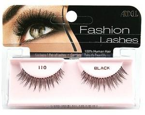 ARDELL Fashion Lashes #110 Black, Profesjonalne, naturalne rzęsy czarne, 1 op.