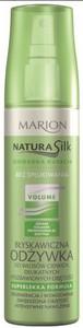 MARION Natura Silk, Błyskawiczna odżywka bez spłukiwania do włosów pozbawionych objętości, 150 ml