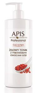 APIS Goji TerApis, Żelowy tonik z tybetańskimi owocami goji, cera dojrzała, 500 ml