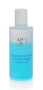 APIS, Płyn dwufazowy do demakijażu oczu i ust, każda cera, 165 ml