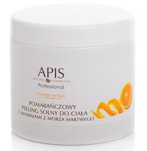APIS Orange terApis, Pomarańczowy peeling solny z minerałami z Morza Martwego, każda skóra, 700g