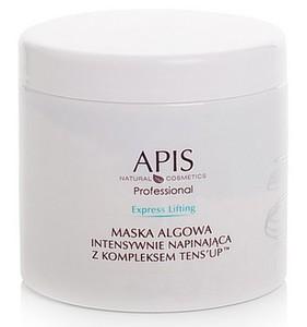 APIS Express Lifting, Maska algowa intensywnie napinająca z kompleksem TENS'UP™, cera dojrzała, 250g/650 ml