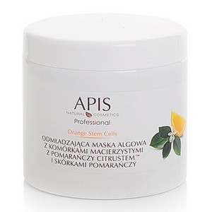 APIS Orange Stem Cells, Maska algowa z komórkami macierzystymi z pomarańczy CITRUSTEM™, cera dojrzała, 250g/650 ml