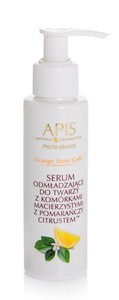 APIS Orange Stem Cells, serum odmładzające do twarzy z komórkami macierzystymi z pomarańczy CITRUSTEM™, 100 ml