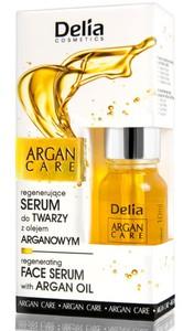 DELIA Argan Care, Serum do twarzy z olejem arganowym, 10 ml