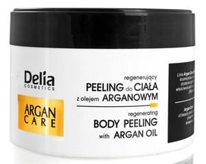 DELIA Argan Care, Regenerujący peeling do ciała z olejem arganowym, 200 ml