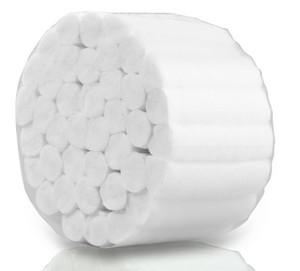 Separatory - wałki bawełniane do pedicure i zabiegów kosmetycznych, 600 szt