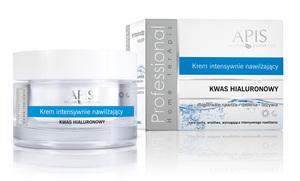 APIS Home Terapis Kwas Hialuronowy, Krem intensywnie nawilżający, cera sucha, 50 ml