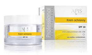 APIS Home Terapis SPF 30, Krem ochronny, cera wrażliwa, z przebarwieniami, po zabiegach, 50 ml