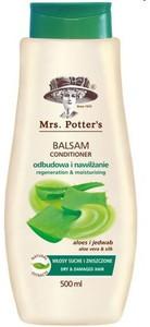 MRS. POTTERS, Balsam nawilżający Aloes i Jedwab, włosy suche i zniszczone, 500 ml