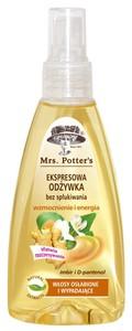 MRS. POTTERS, Odżywka ekspresowa Imbir i D-pantenol, włosy słabe i wypadające, 200 ml