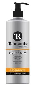ROMANTIC Professional Renegate, Balsam regenerujący z olejem arganowym, włosy suche i zniszczone, 850 ml