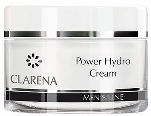 CLARENA Men Power Hydro Cream, Nawilżający krem dla mężczyzn, 50 ml