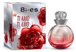 BI-ES Ti Amo Ti Amo EDP, Damska woda perfumowana, linia kwiatowo-owocowa, 100 ml