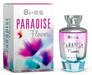 BI-ES Paradise Flowers EDP, Damska woda perfumowana, linia owocowo-kwiatowa, 100 ml