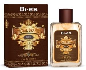 BI-ES Royal Brand Gold EDT, Męska woda toaletowa, linia drzewno-pikantna, 100 ml