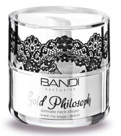 BANDI Gold Philosophy Ultimate Neck Shaper, Krem na szyję i dekolt, cera dojrzała, 50 ml