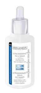 BIELENDA Professional, Ultranawilżające serum do twarzy, cera sucha i odwodniona, 30 ml