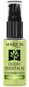 MARION Olejki Orientalne Wzmocnienie Włosów, Wzmacniający olejek Kokos i Tamanu, włosy delikatne i słabe, 30 ml