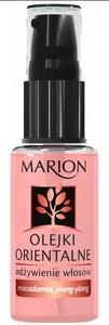 MARION Olejki Orientalne Odżywienie Włosów, Odżywczy olejek Macadamia i Ylang Ylang, każde włosy, 30 ml