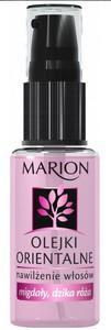 MARION Olejki Orientalne Nawilżenie Włosów, Nawilżający olejek Migdały i Dzika Róża, włosy suche, 30 ml