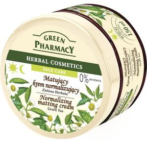 GREEN PHARMACY, Matujący krem normalizujący Zielona Herbata, cera  tłusta i mieszana, 150 ml