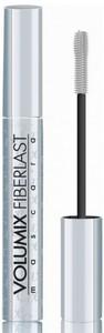 EVELINE Volumix Fiberlast Lenght & Curl Up, Podkręcająca i wydłużająca maskara mineralna, 11 ml