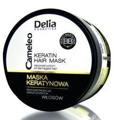 DELIA Cameleo BB, Maska keratynowa do rekonstrukcji zniszczonych włosów, 200 ml