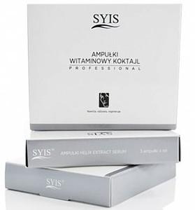 SYIS Serum, Ampułki Witaminowy Koktajl do twarzy, 3x3 ml