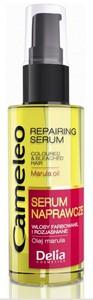DELIA Cameleo, Serum naprawcze z olejem marula, włosy farbowane i rozjaśniane, 50 ml