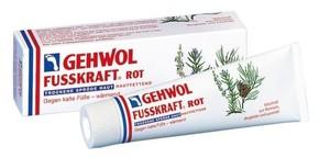 GEHWOL Fusskraft Rot, Balsam natłuszczający do zimnych i suchych stóp, 125 ml