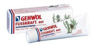 GEHWOL Fusskraft Rot, Balsam nawilżający do zimnych i normalnych stóp, 75 ml